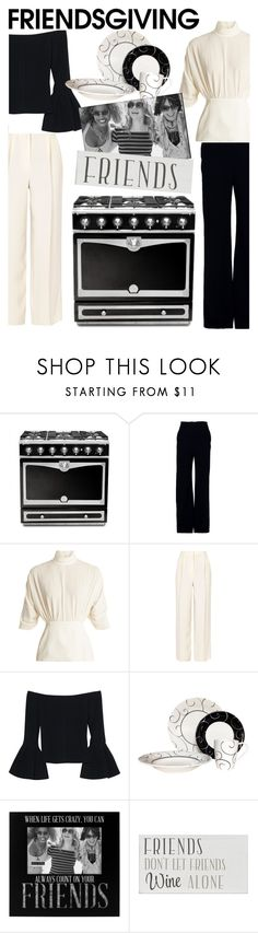 """Friendsgiving"" by rehtaeh69 ❤ liked on Polyvore featuring La Cornue, Brandon Maxwell, Emilia Wickstead, The Row, Alexis, Red Vanilla, Malden International Designs and friendsgiving"