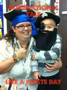 September 19! For the Children: International Talk Like a Pirate Day