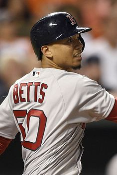 Download free HD wallpaper from above link! #MookieBetts #threehomers Mookie Betts, Boston Sports, Free Hd Wallpapers, Baseball Cards, Link, Fashion, Gaming Wallpapers, Moda, Fashion Styles
