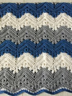 Free Pattern For Hugs Kisses Baby Blanket Featuring Caron Baby