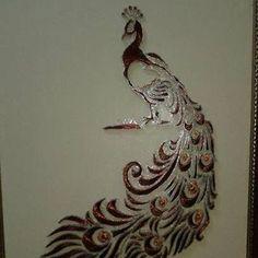 Te lsarma tavus kuşu tablo