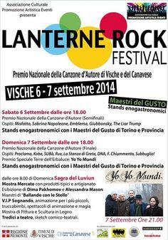 Lanterne Rock 2014 su Paperstreet.it Rock Festival, Lantern