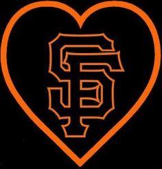 SF Giants Heart ~ Yeah Baby