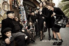 Dolce & Gabbana. I'd like to think my Italian genes will enable me to look like this one day.