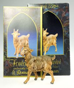 Fontanini Nativity The Standing Goat 5 In by WeStartedWithAMouse