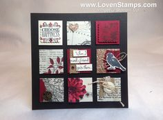 ♥♥♥  Stampin' Up! Demonstrator – Meg Loven – Video Tutorials, Project Ideas, Order Online Any Time » Blog Archive » How to Upcycle Chipboard for Deco Art Frames