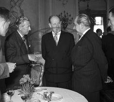 Vladimír SYCHRA, Antonín ZÁPOTOCKÝ, Karel POKORNÝ Funeral, Table Settings, Atelier, Place Settings