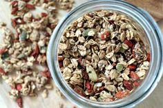 Vegan Seeds and Goji Berry Granola | The Dr. Oz Show