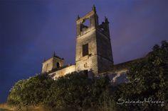Hacienda Mejorada Baja. Los Palacios, Sevilla. Foto: Salvador Moreno #photo  #Nocturna