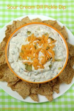 Sour Cream Dill Pickle Dip
