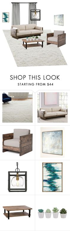 """""""Haley's """"First Apartment"""" Expensive Design"""" by lanninghrs on Polyvore featuring interior, interiors, interior design, home, home decor, interior decorating, West Elm, John-Richard and Eurofase"""