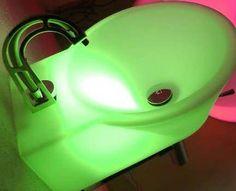 Bath Sink with Night Light  Bathroom Night Lights Eliminate Your Children's Scare
