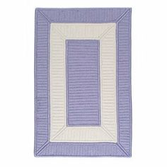 """Colonial Mills Collection 14 Cb98 5'0"""" x 5'0"""" Amethyst / White Square Area Rug by Colonial Mills. $252.00. Collection 14 CB98 amethyst / white rug by Colonial Mills Inc Rugs is a braided rug made from synthetic. It is a 5 x 5 area rug square in shape. The manufacturer describes the rug as a amethyst / white 5'0"""" x 5'0"""" area rug. Buy discount rugs with Buy Area Rugs .com SKU cb98r060x060s