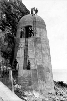 Around 130 Years ago working on the Gas Foghorn on the Ailsa Craig - 1886 https://www.facebook.com/treelap/photos/a.292061040899939.56379.193943477378363/893574977415206/?type=3
