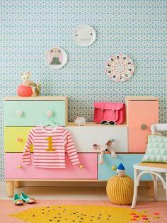 10 Pastel Kidsrooms