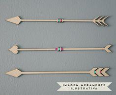 Jogo de Flechas Decorativas Duran | Westwing - Casa & Decoração