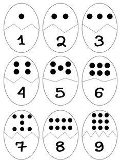 Back to School Number Matching - Kindergarten Math Centers Numbers Preschool, Preschool Learning, Preschool Crafts, Teaching Kids, Kindergarten Math Worksheets, Toddler Learning Activities, Montessori Activities, Math For Kids, Kids Education