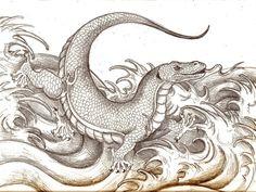 Dragon of Komodo by DragonCid.deviantart.com on @deviantART
