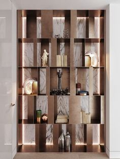 40 Trendy Ideas For Metal Wall Shelves Diy Wood Storage Shelves, Wooden Storage Boxes, Built In Storage, Display Shelves, Wall Shelves, Shelving, Display Cases, Storage Design, Diy Storage