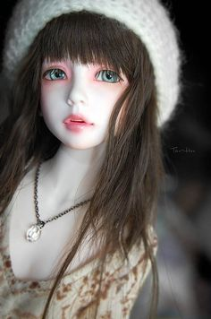 WOW !! Glass Anime Doll... beautiful !! and i'll bet price is ridiculously steep!
