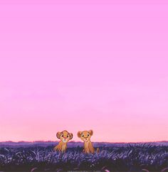 This would maybe make a good wallpaper. The Lion King