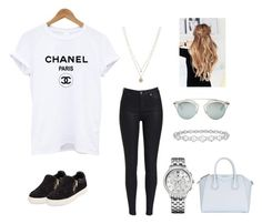 """""""Untitled #97"""" by sophraddd on Polyvore featuring Epoque, Tommy Hilfiger, LC Lauren Conrad, Givenchy, Ash and Christian Dior"""