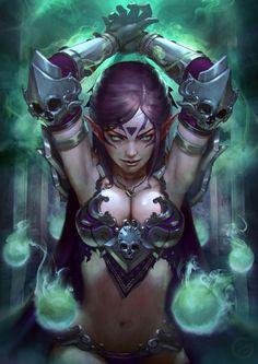 d4770df24fc8f657526a3a7d185c413a--elf-warrior-warrior-women.jpg (736×1041)