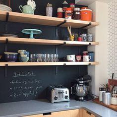 From on Etsy: Vanessa Tinoco Room Shelves, Kitchen Shelves, Wooden Shelves, Shelf Brackets Industrial, Steel Shelf Brackets, Shelving Brackets, Draw Handles, Creative Coffee, Coffee Table Legs