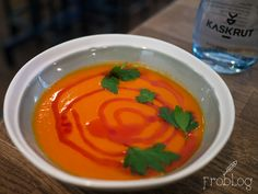 Red pepper / Tomato / Coconut at Kaskrut in Warsaw Poland
