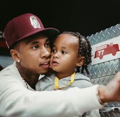 Tyga & his son King