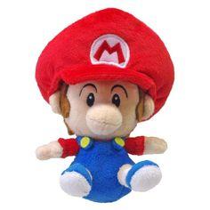 Peluche sous licence officielle NINTENDO Peluche Nintendo Bébé Mario Taille  : 13 cm