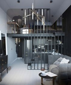 vosgesparis: A small and dark apartment in Russia