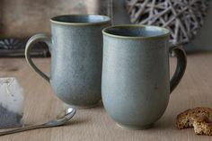 The Great Ceramic Mug For Sarting Your Morning by MadAboutPottery