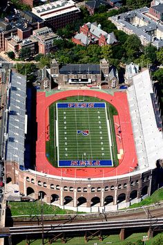 Franklin Field at the University of Pennsylvania, Philadelphia PA. Every year in elementary school we would perform here for the Presidents badge.