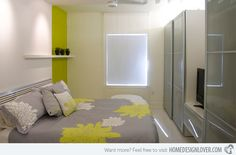 15 Bedrooms of Lime Green Accents