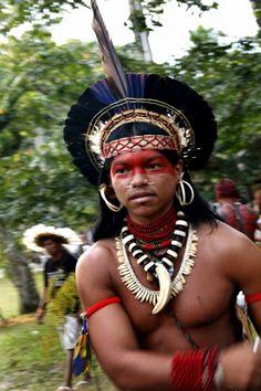 Terena tribe, Brazil    http://brabbu.com/blog/2012/10/terena-indians-the-urban-tribe/