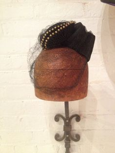 1940s Military Inspired Fascinator by MinaLucinda on Etsy, $65.00