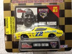 Racing Champions NASCAR LEGENDS No.8 Benny Parsons Mercury #72 1998 Rlse NOC #RacingChampions #1968MERCURYCYCLONE