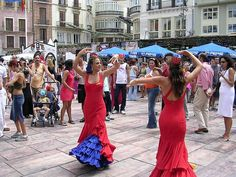 Malaga fair. Feria de MÁLAGA