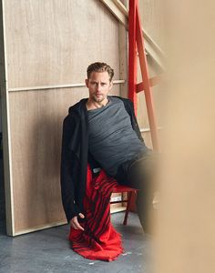 The Alexander Skarsgard Library  - Alex photographed by Cristian Hunter and Martin...