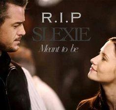 Noo Slexie! (Mark Sloan and Lexie Grey) MEANT TO BE. #Grey's anatomy