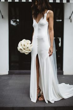At One Day Bridal we offer an alternative to traditional. We seek to break the rules, creating effortless bridal looks for the modern day bride. One Day is a leading bespoke bridal house in Melbourne, Australia. Bridal Looks, Bridal Style, Wedding Bride, Wedding Gowns, Wedding Hair, Bridal Hair, Slip Wedding Dress, Minimal Wedding Dress, One Day Bridal