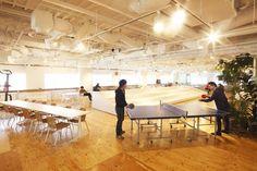 3フロアに一体感をもたせたオープンで開放的な''freee''的オフィス オフィスデザイン事例 デザイナーズオフィスのヴィス