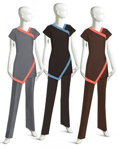 A well-balanced UNIFORM collection designed for comfort and ease of motion. Spa Uniform, Hotel Uniform, Scrubs Uniform, Maid Uniform, Beauty Salon Uniform Ideas, Salon Wear, Beauty Uniforms, Corporate Uniforms, Scrubs Outfit