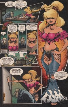 I have always said I want to go as Julie Winters from The Maxx one year for halloween. Here the example of the costume.