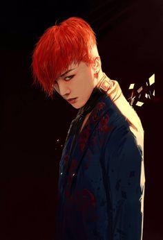 g-dragon, bigbang, and fanart Bild Daesung, Gd Bigbang, Bigbang G Dragon, G Dragon Tumblr, K Pop, Big Bang Kpop, Bang Bang, Rapper, G Dragon Top