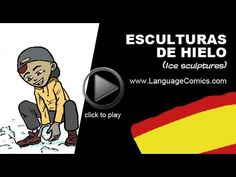 Practice your pronunciation and learn #Spanish with this episode and many more. Enjoy and share!  http://www.youtube.com/watch/?v=o_t7BWINcnM    --------------------------------  Also find us on:  http://www.Facebook.com/languagecomics and http://www.YouTube.com/languagecomicsteam
