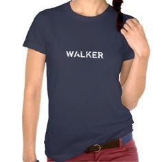 Walker - Ladies Tee Shirts #zombies #walkingdead #thewalkingdead
