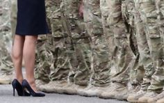 I think this picture is adorable.  Catherine at the Medal Ceremony for the Irish Guard 6/25/11.  #Kate #Middleton