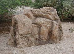 Very Cool Faux Landscaping Rock